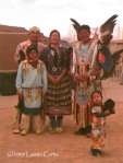 Native American Grand Canyon Family