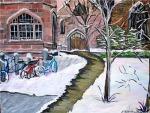 Linda Gilbert_Snowy Campus