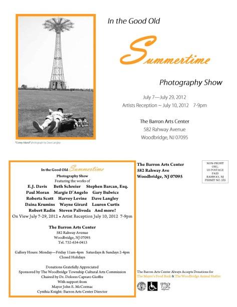 Barron Arts Center July Show