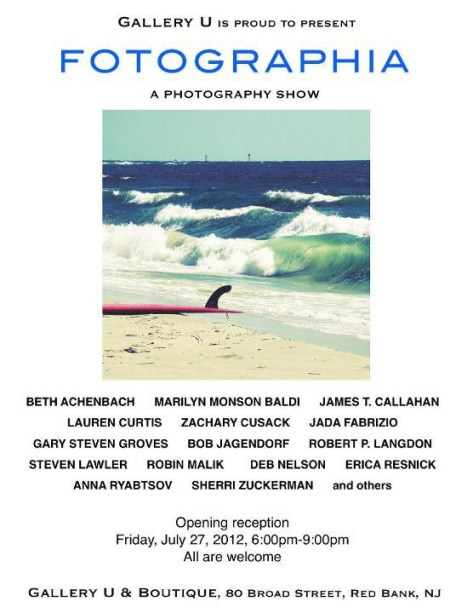 Fotographia Group Phootgraphy Show at Gallery U, Red Bank