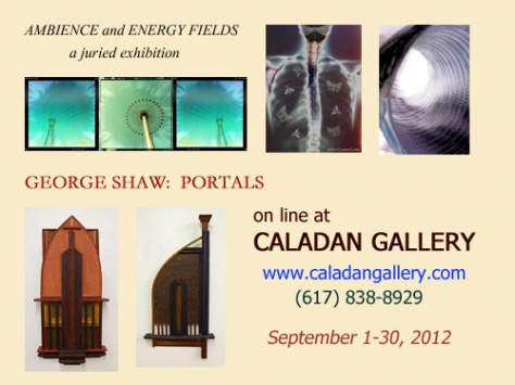 Postcard for Caladan Gallery Show, Sept., 2012