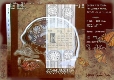 Brain COGnition digital photo collage (c)2012