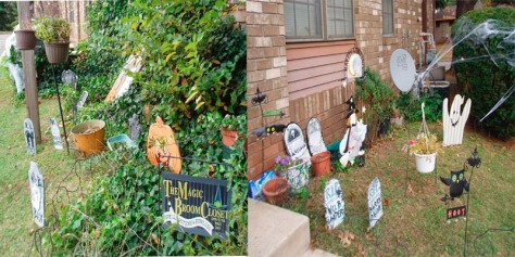 Pre-Sandy Halloween decor