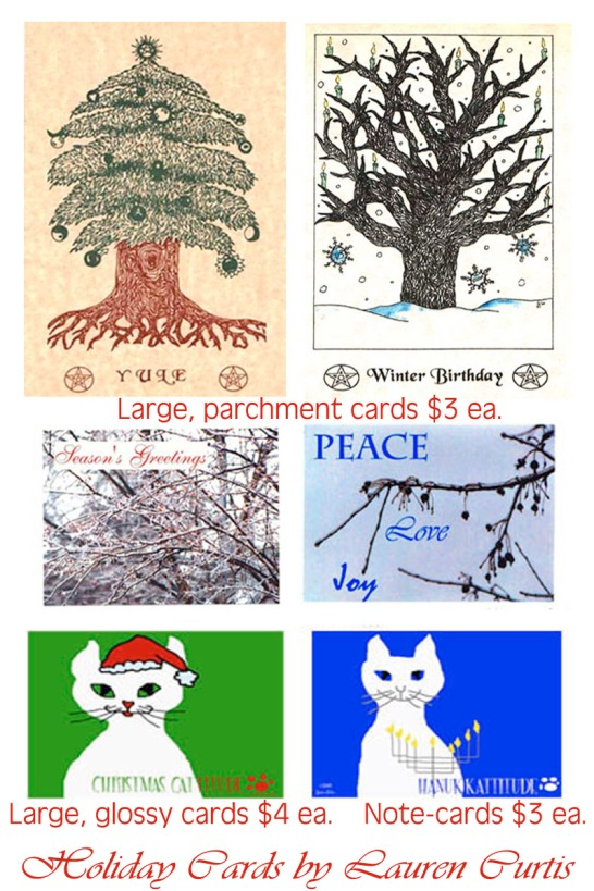 Original Holiday Greeting Cards (c) Lauren Curtis