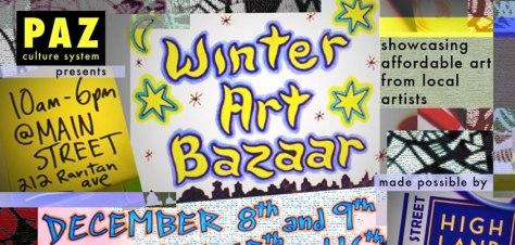 PAZ Winter Art Bazaar in Highland Park, NJ