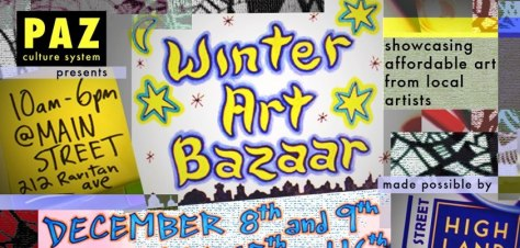 PAZ Winter Art Bazaar in Highland Park, NJ