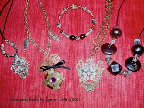 Steampunk Jewelry by Lauren
