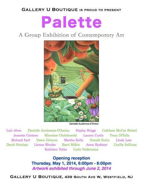 Gallery U Palette Exhibition 2014