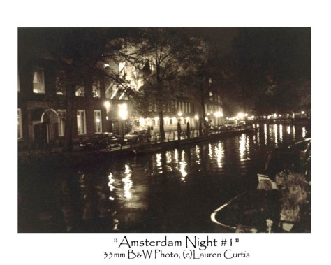 Amsterdam Night 1 35mm photo