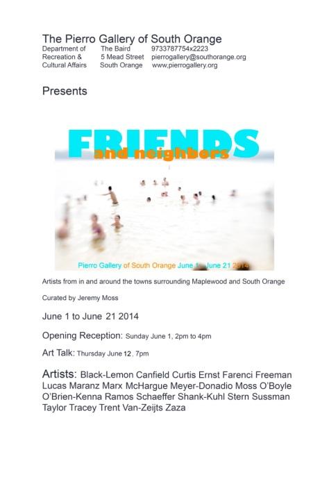Friends & Neighbors Flyer June2014