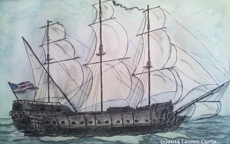 Ship, BonHommeRichard (c)June2014