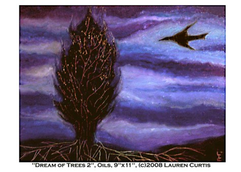 Dream Of Trees 2, oils (c)Lauren Curtis