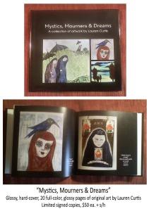 Mystics, Mourners, Dreams Book (c)Mar2015